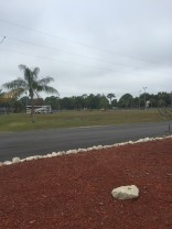 A look at the dog run and tennis/pickleball court at Pine Island Resort.