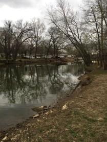 Namesake Turkey Creek to Lake Taneycomo.