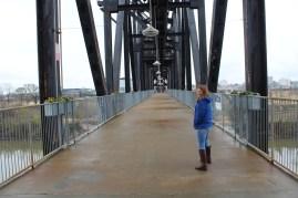It is a nice foot bridge...