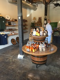 Visitor/sales area for the Barrel House Distilling, another Craft Tour participant.