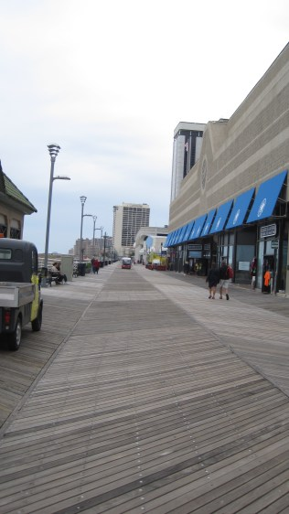 Looking south down the Atlantic City Beach Boardwalk.