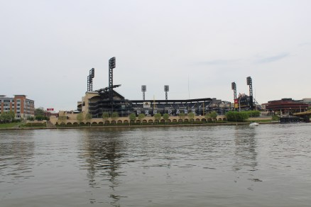 PNC Park from across the river.