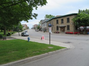 Beautiful downtown Ganonoque, Ontario.