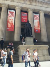 The Federal Hall museum.