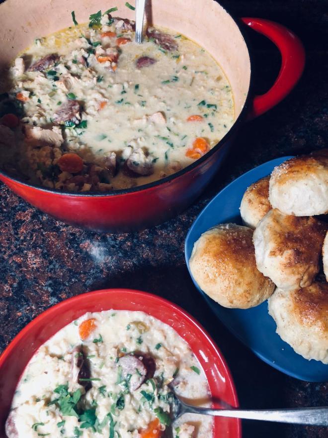 Creamy Chicken Soup 2