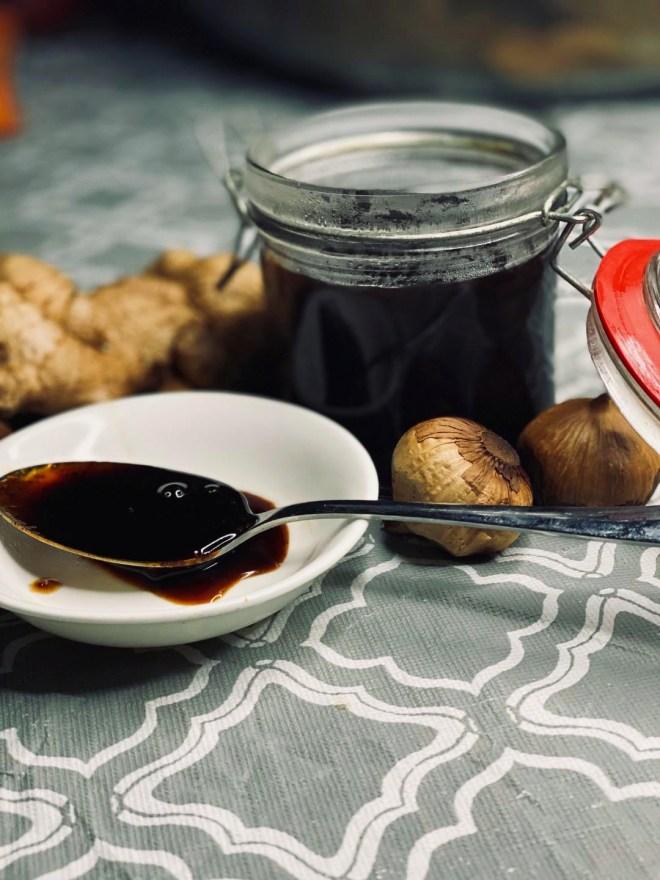 Black Garlic Teriyaki Sauce