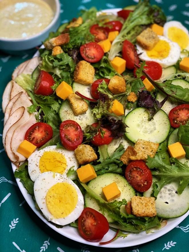 Chef Salad + Dijon Ranch