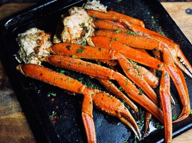 Cajun Barbecue Crab Leg