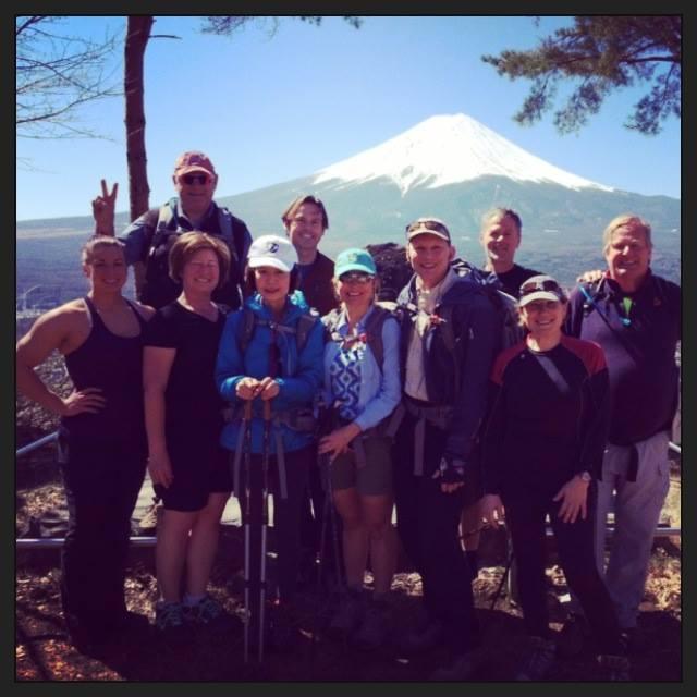 Mountain Trek hikers score perfect views of Mt Fuji