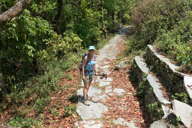 We were so surprised at the extensive and well maintained stone paving of the hiking trails. Many have been paved for hundreds of years.