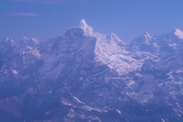 One of the holy mountains near Mt. Everest.  Not allowed to be climbed.