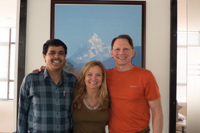 Our Kathmandu guide, Basu Giri, was wonderfully accommodating and always had a smile on his face.