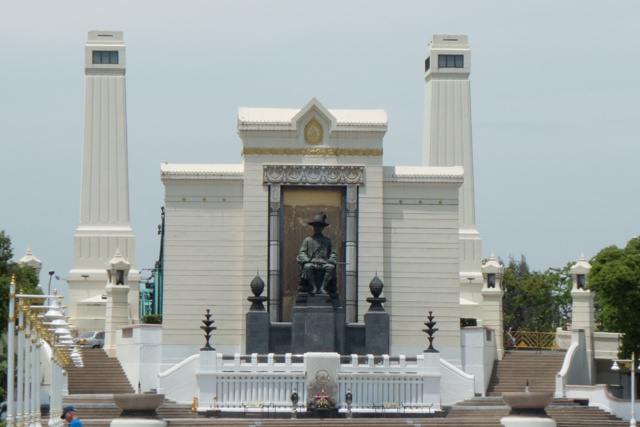 Dedicated to the first King of  Bangkok from the current dynasty - which began in 1782.