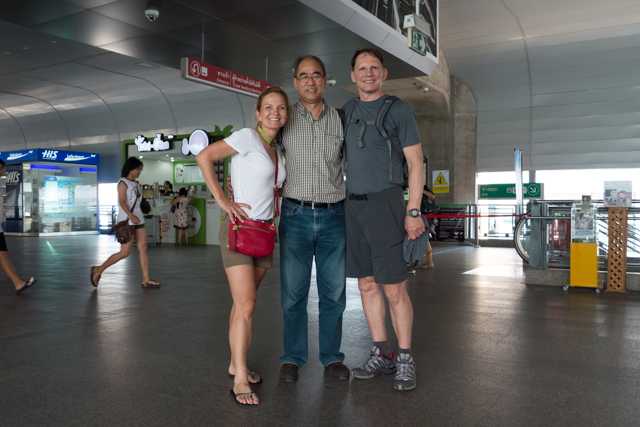 Our very knowledgable and flexible guide, Kay, showed us some of the core of Bangkok.