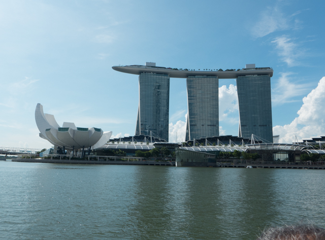 The Marina Bay Sands was, at the time of its completion in 2010, the world's most expensive building at just under $6 Billion.