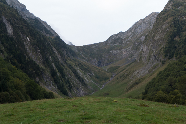 A view of our route up Port Vénasque.