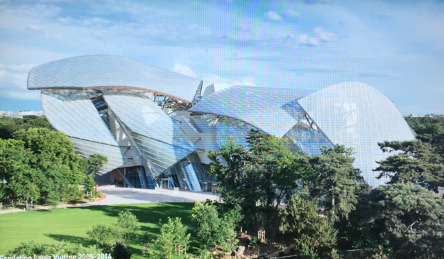 La Fondation Louis Vuitton, Paris (hadn't been there, now we have)