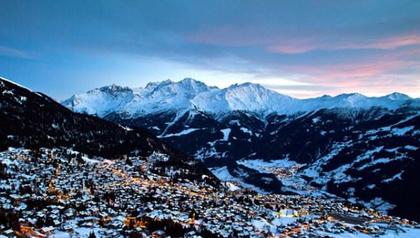 Verbier and Engelberg in the Swiss Alps