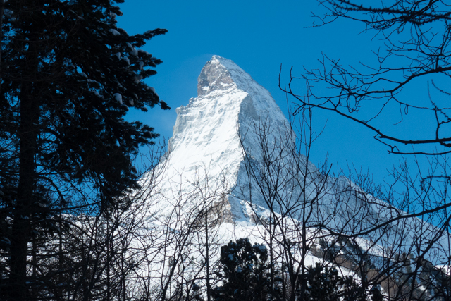 The Matterhorn -- one of our favorite mountains.