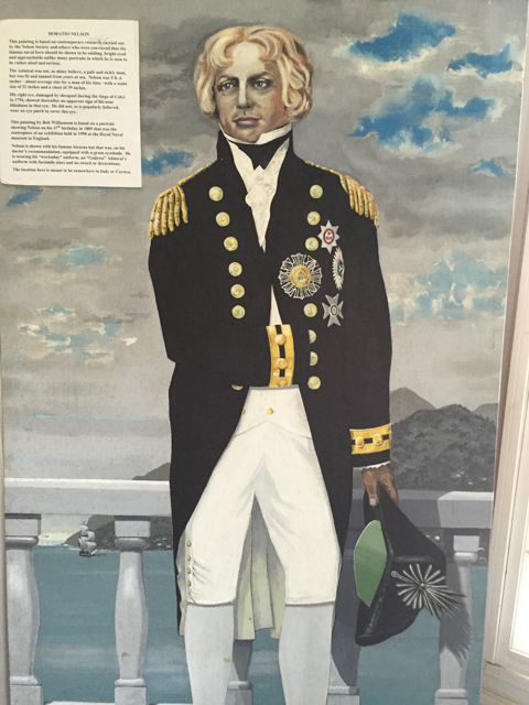 The famous Lord Horatio Nelson was stationed for several years in Antigua.