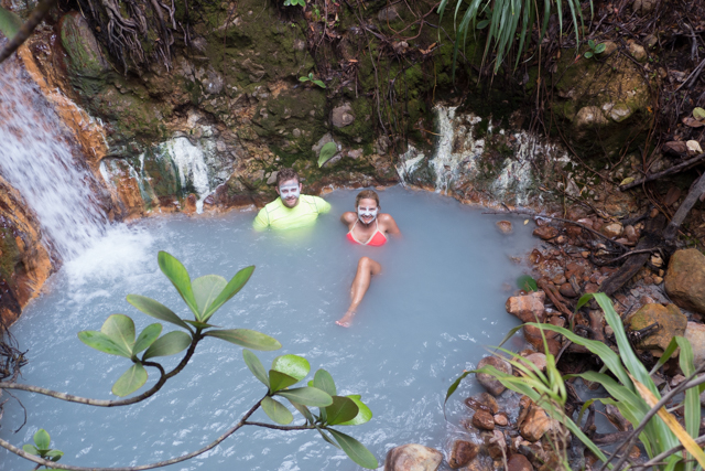Shauna and Jake find a natural hot spring.