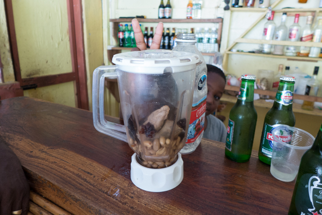 This local speciality was a drink which was steeped in local herbs and spices, and,  supposedly  a turtle's penis.
