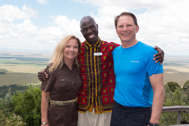 Kenhamman greeted us morning, noon and night with a huge Kenyan smile and superb service. He got to know our preferences and made sure we were well taken care of. It was hard not to smile around Ken; his joy was contagious.