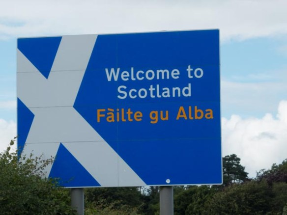 Welcome to Scotland