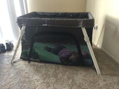 """""""Breathable ClearView Mesh allows for full airflow and an unobstructed view of the child, even when the side is zipped up."""""""