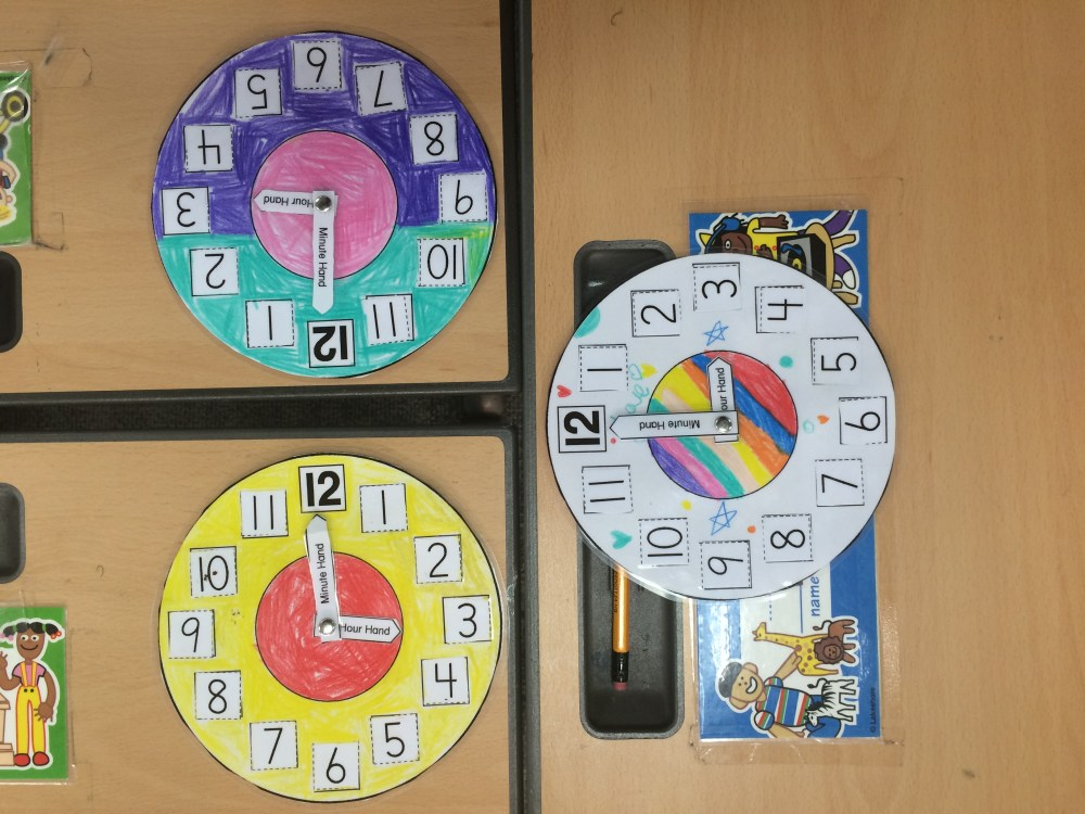 medium resolution of Telling Time in First Grade – two apples a day