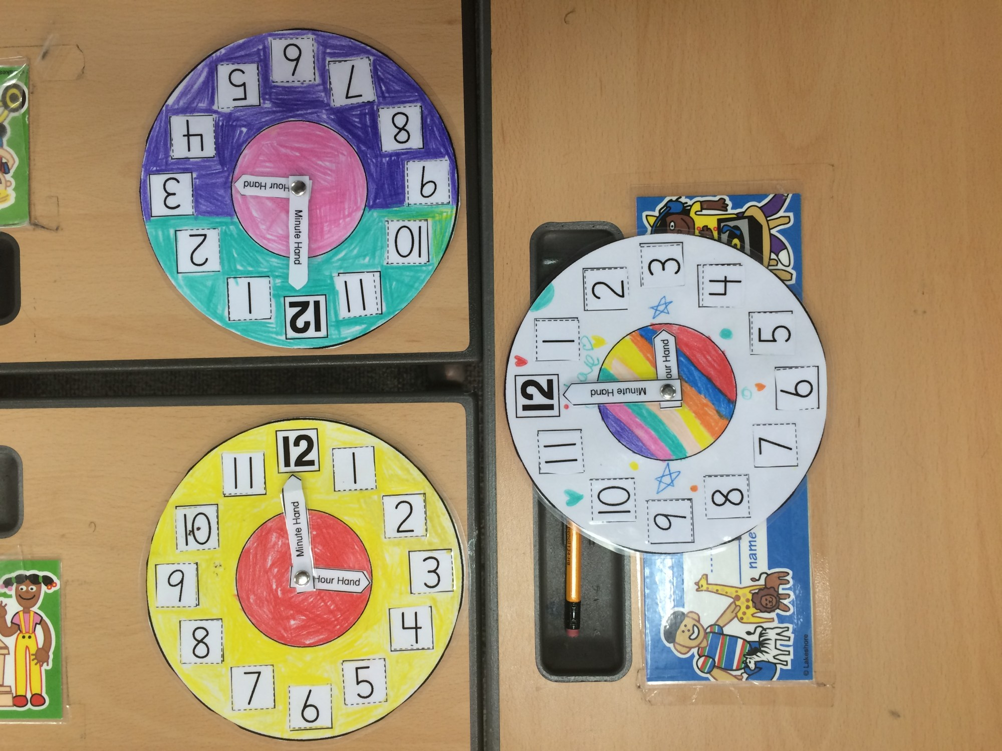 hight resolution of Telling Time in First Grade – two apples a day