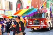 A gay fire truck.