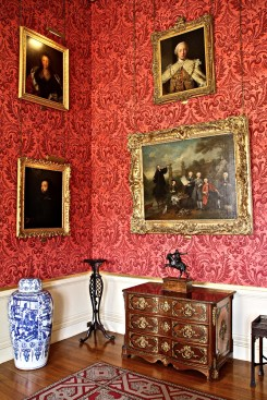 Inside Ickworth House.