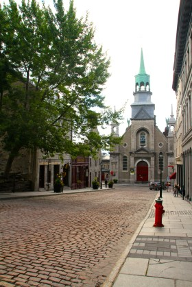 Vieux Montreal.