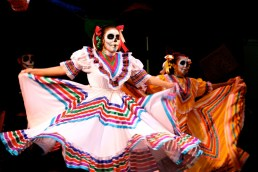 Day of the Dead dancing