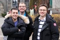 Peter, Royden and Glen