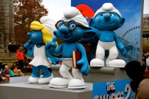 Shameless Smurfs 2 promotion. Hasn't this movie come out already?