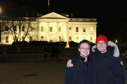 Us at the White House