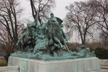 Part of the Ulysses Grant Memorial