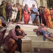 Michelangelo and Leonardo