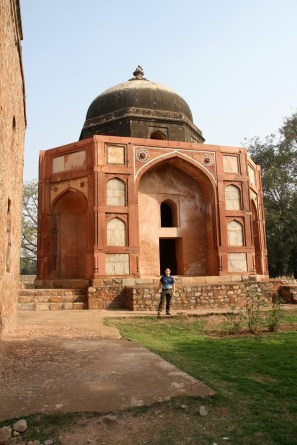 One of the temples at Humayun's Tomb