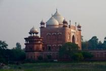 Part of the Taj