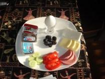 Café da manhã estilo turco