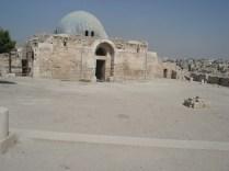 Al-Qsar (palácio) Omeya – entrada para as audiências