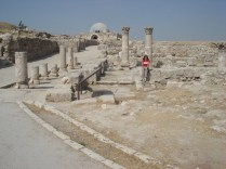 Outra vista do Al-Qsar (palácio) Omeya