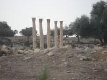 Ruínas em Umm Qays