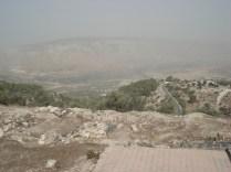 Umm Qays - Fronteiras e postos de controle