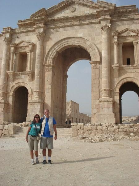 Entrada de Jerash – Portal de Adriano