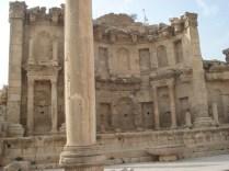 Nymphaeum – fonte sempre existente nas cidades romanas