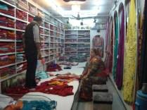 Centro antigo - loja de tecidos
